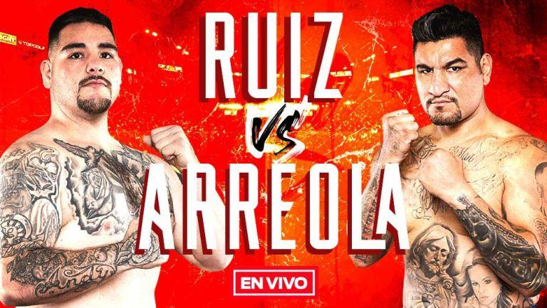 EN VIVO Y EN DIRECTO: Andy Ruiz vs Chris Arreola