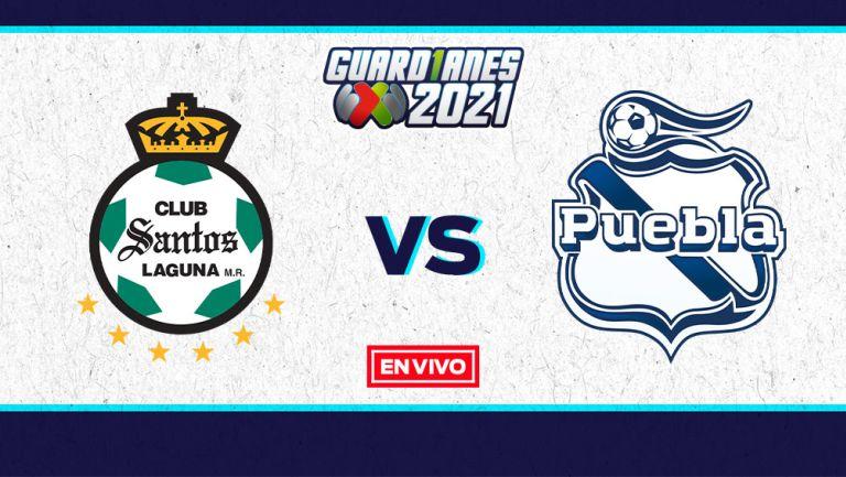 EN VIVO Y EN DIRECTO: Santos vs Puebla Guardianes 2021 J17