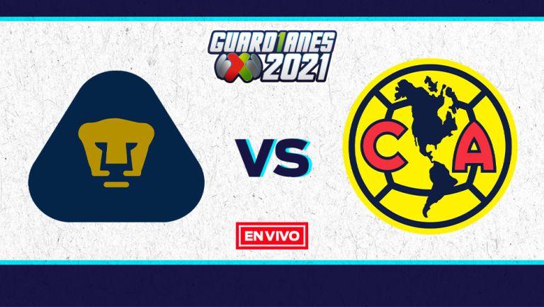 EN VIVO Y EN DIRECTO: Pumas vs América Guardianes 2021 J17