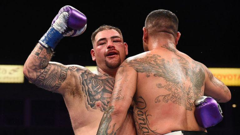 Andy Ruiz volvió al ring con victoria sobre Chris Arreola