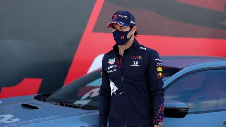 Sergio Pérez en las carreras de pruebas del GP Portugal