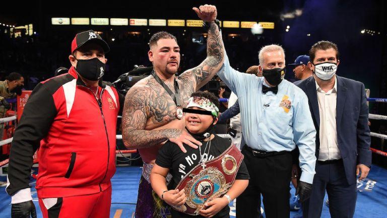 Andy Ruiz: 'Sabía que no iba a estar al 100 por ciento porque tenía un año sin pelear'