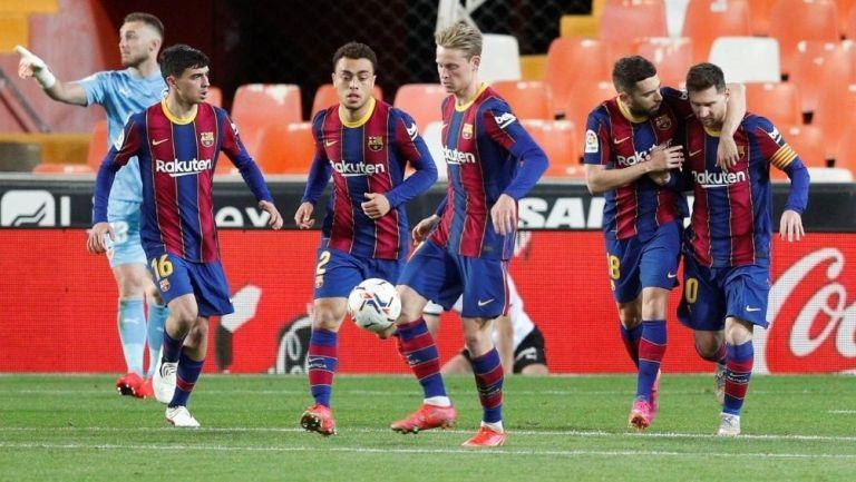 Barcelona venció al Valencia