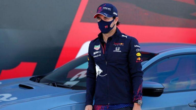 Checo Pérez en el GP de Portugal
