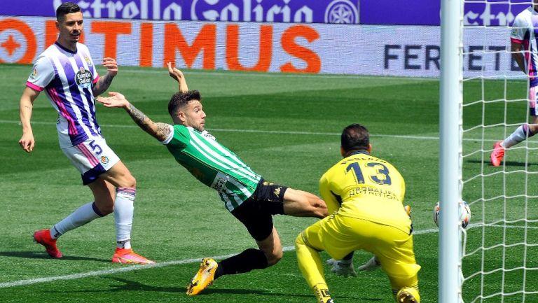Gol de Aitor Ruibal con el Betis