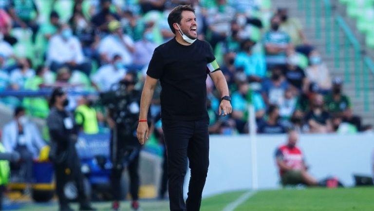 Nicolás Larcamón: 'Teníamos que redoblar esfuerzos para terminar entre los primeros cuatro'