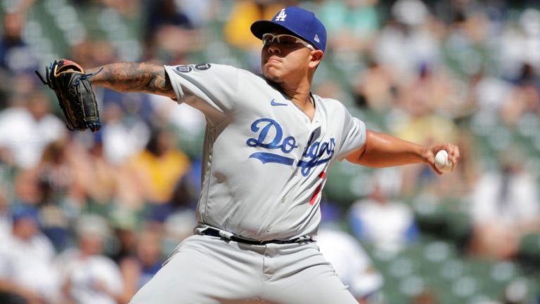 Julio Urías: Dodgers evitaron barrida ante Brewers con gran salida del mexicano