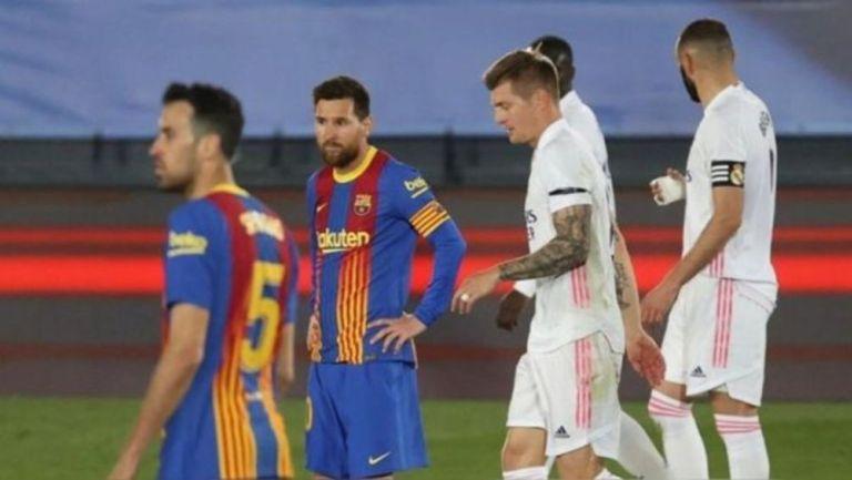 Lionel Messi en acción con Barcelona