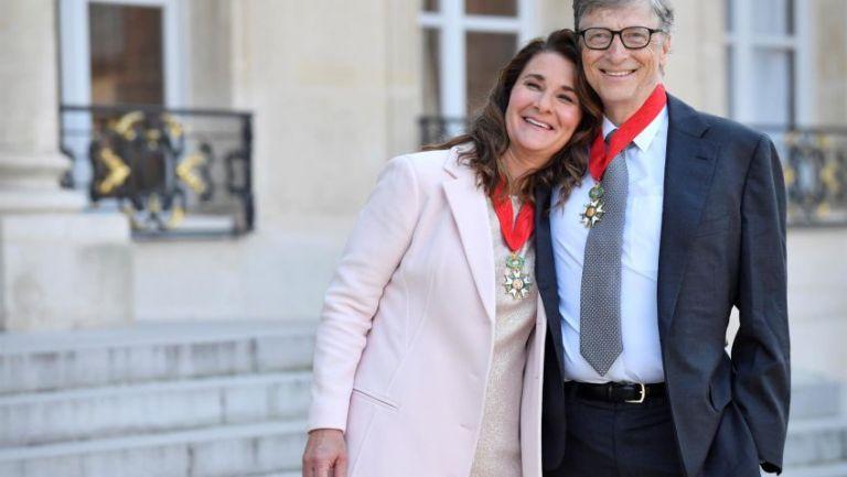 Melinda y Bill Gates en un evento