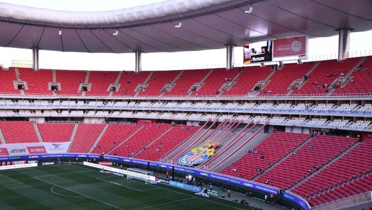 El Estadio Akron deberá esperar que las Chivas avancen a Liguilla