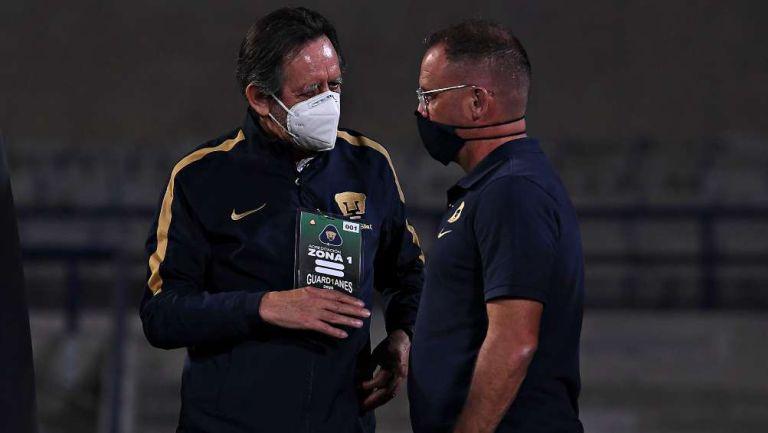 Leopoldo Silva y Andrés Lillini