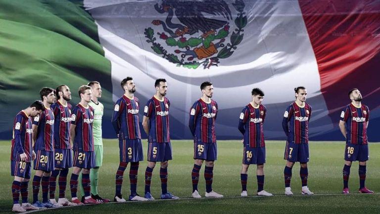 Barcelona se solidariza con México tras el accidente en el Metro