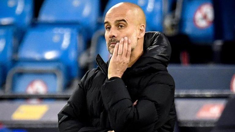 Pep Guardiola, estratega del Manchester City