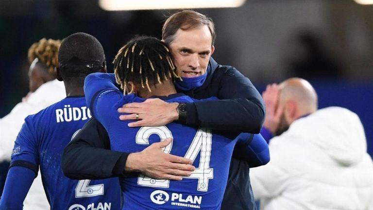 Tuchel festeja el pase del Chelsea a la Final