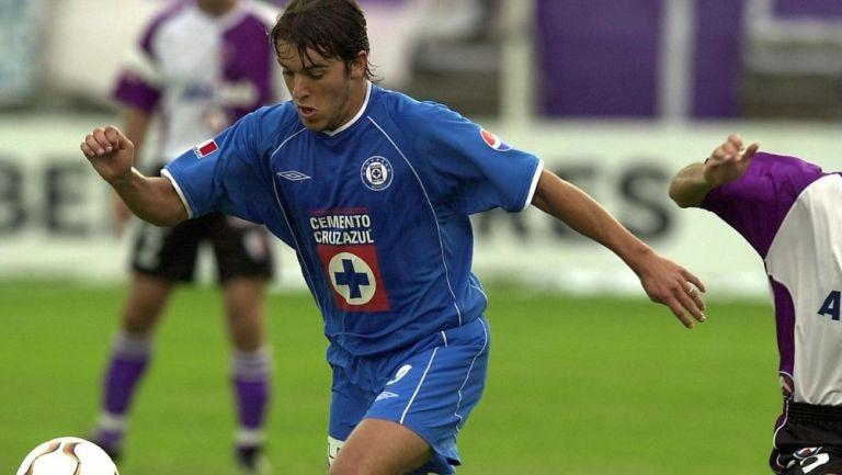 Daniel Baldi en su paso por Cruz Azul