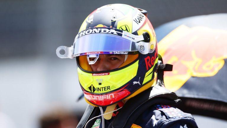 Sergio Pérez en el Gran Premio de Portugal