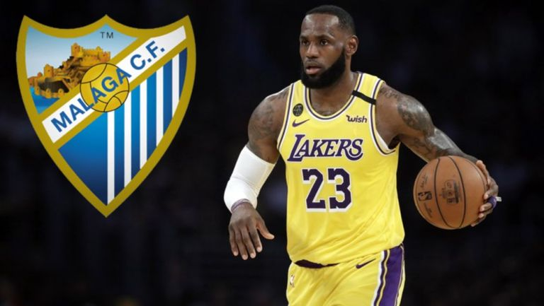 Malaga: LeBron James se convirtió en accionista del club español