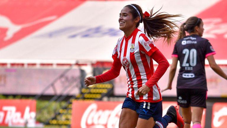 Joseline Montoya: 'Sería bonito ser campeonas y anotar en Liguilla'