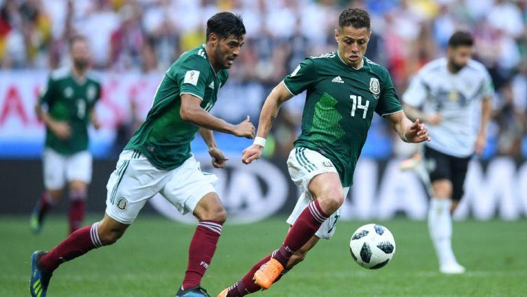 Chicharito Hernández previo al Clásico del Tráfico: 'Claro que quiero jugar contra Carlos Vela'