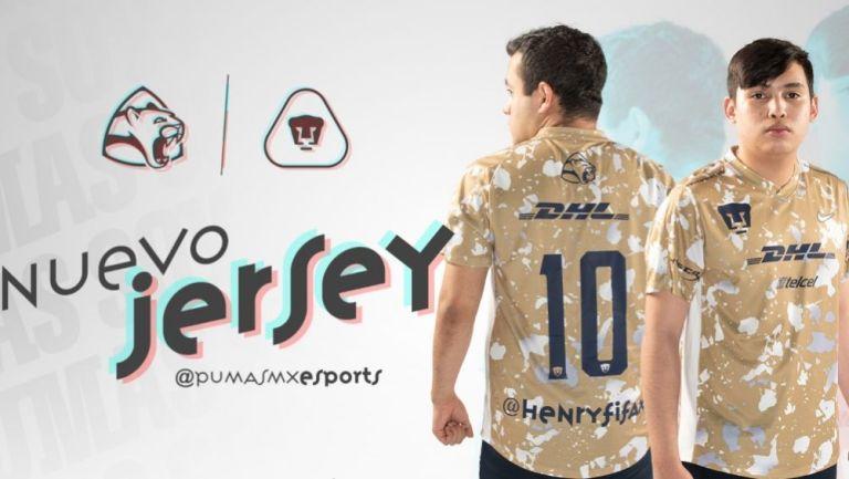 Presentación de la indumentaria de Pumas esports