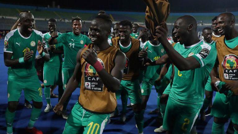 Sadio Mané tras un duelo con Senegal
