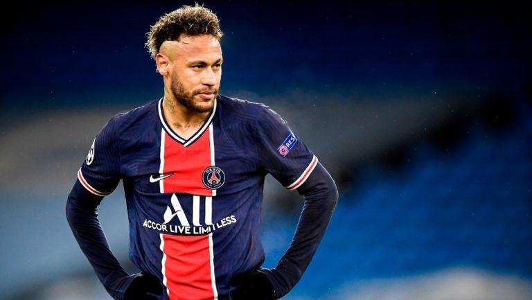 Neymar lamenta la eliminación del PSG