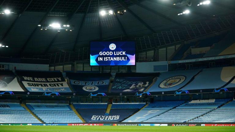 Manchester City desea éxito a su equipo en su casa