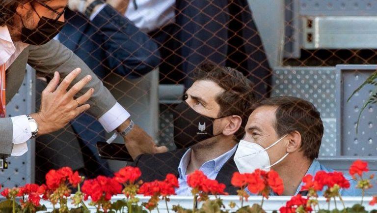 Iker Casillas en el Mutua Madrid Open