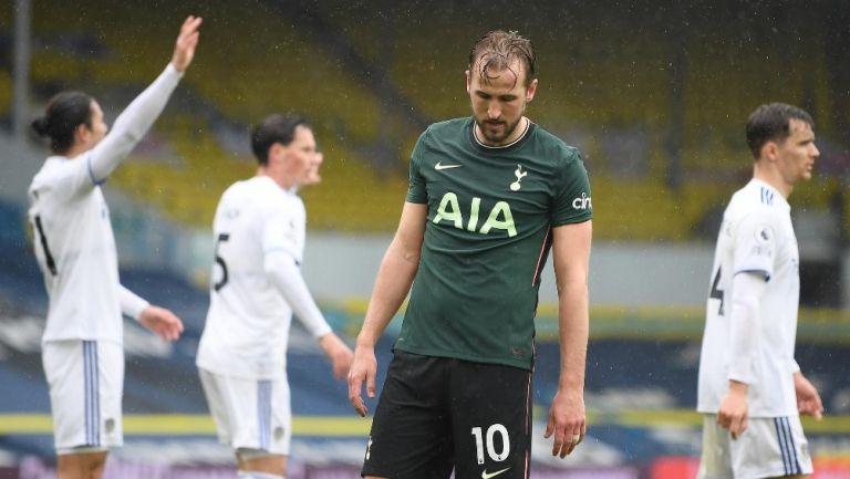 Harry Kane durante partido contra Leeds