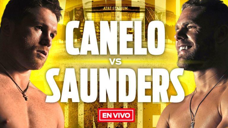 EN VIVO Y EN DIRECTO: Canelo Álvarez vs Billy Joe Saunders