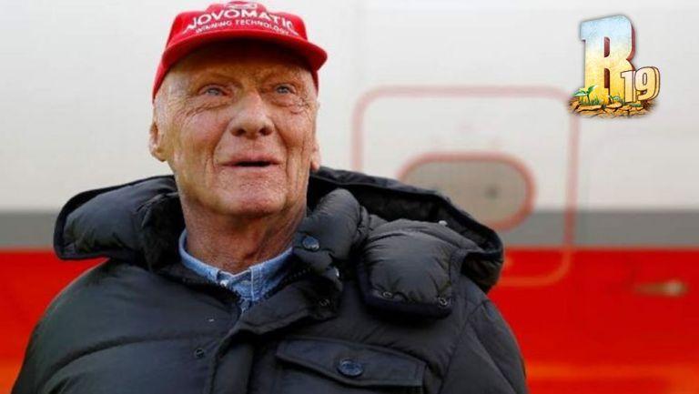 Niki Lauda previo a carrera de F1