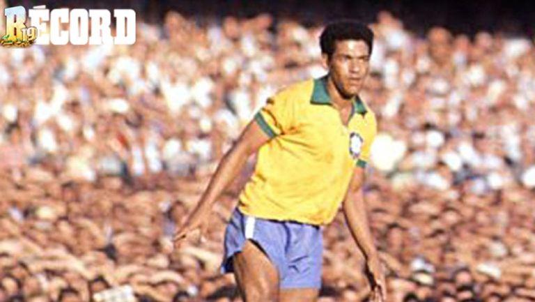 Garrincha, un histórico jugador brasileño