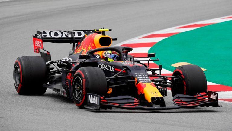 Checo Pérez finalizó quinto en el Gran Premio de España