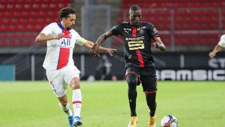 PSG y Stade Rennes repartieron puntos