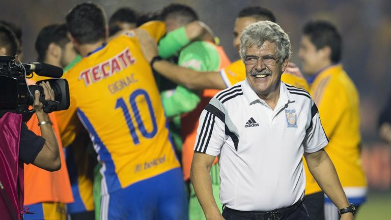 Tuca Ferretti tras el título del Apertura 2016
