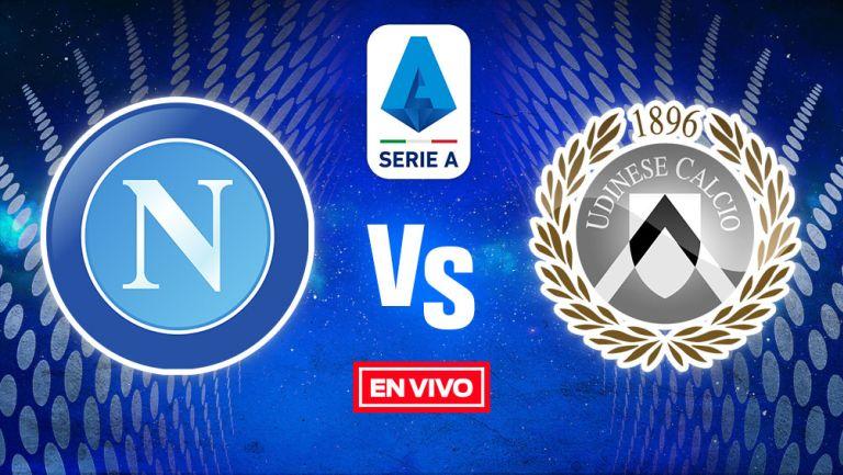 EN VIVO Y EN DIRECTO: Napoli vs Udinese