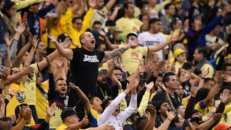 Afición del América en el Estadio Azteca