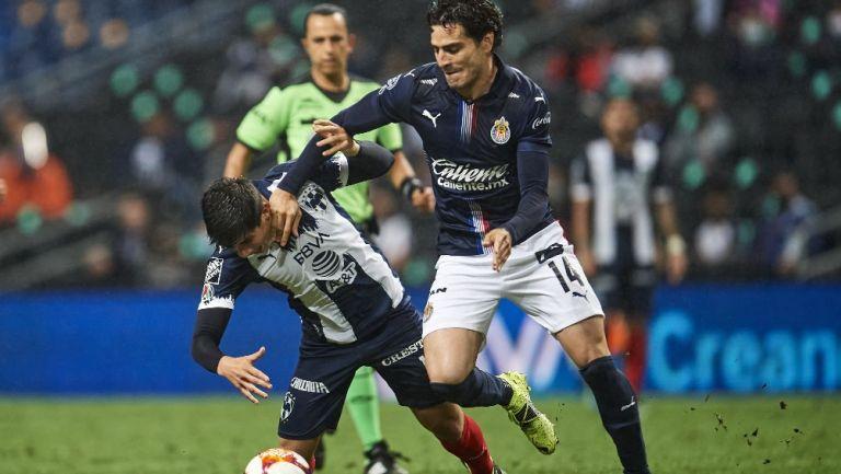 Antonio Briseño en acción en el Guard1anes 2021