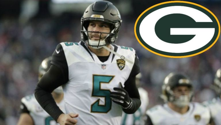 NFL: Green Bay incorporó al quarterback Blake Bortles