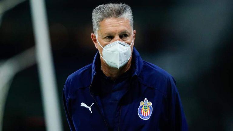 Ricardo Peláez previo a un partido