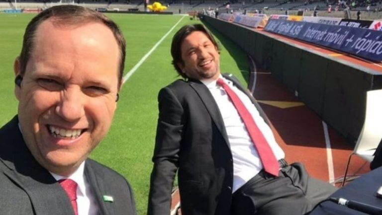 Paco Villa festejó el gol de Cruz Azul