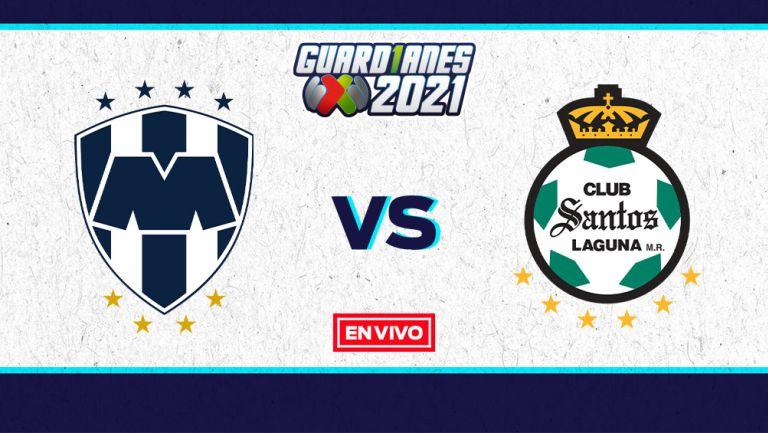 EN VIVO Y EN DIRECTO: Monterrey vs Santos Cuartos de Final Vuelta