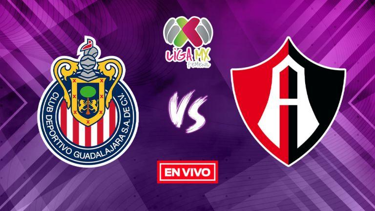 EN VIVO Y EN DIRECTO: Chivas vs Atlas Guardianes 2021 Semifinal Vuelta
