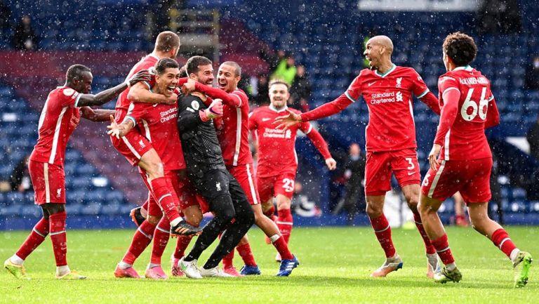 Liverpool: Con gol de Alisson en el último minuto ganó al West Bromwich