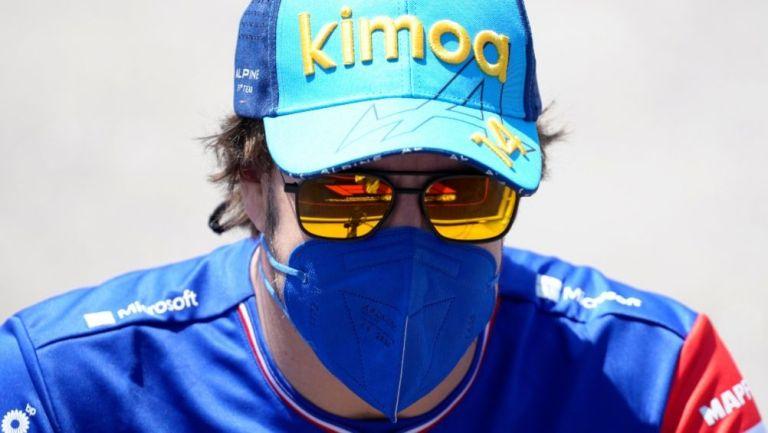 Fernando Alonso, piloto de la escudería Alpine
