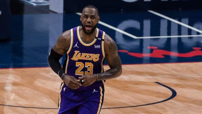 LeBron James en partido