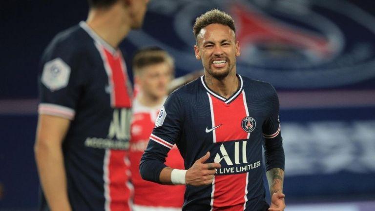 Neymar abrió el marcador