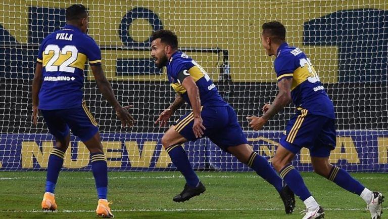 Carlos Tevez marcó el primer gol