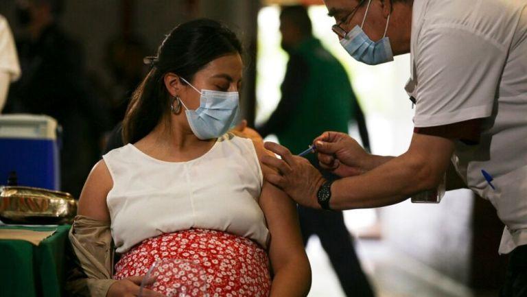 Vacunación en mujeres embarazadas