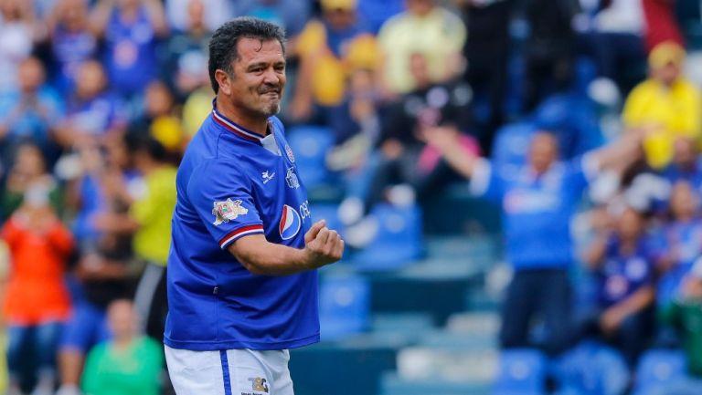 Carlos Hermosillo, exjugador de Cruz Azul